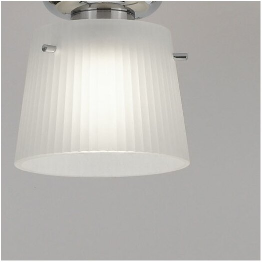 Artemide Jupe Glass Drum Pendant Shade