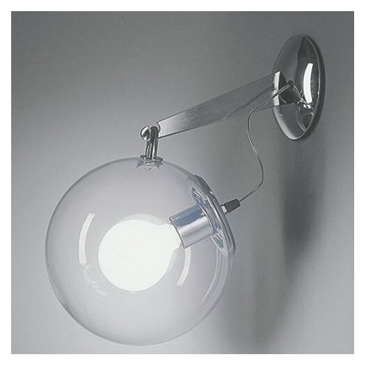 Artemide Miconos 1 Light Wall Sconce