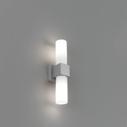 Artemide Dupla Double Light Outdoor Wall Light