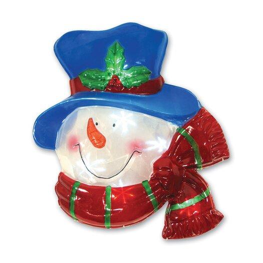 Brite Star LED Icy Snowman Window Decor