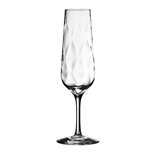 Orrefors Dizzy Diamond Champagne Flute