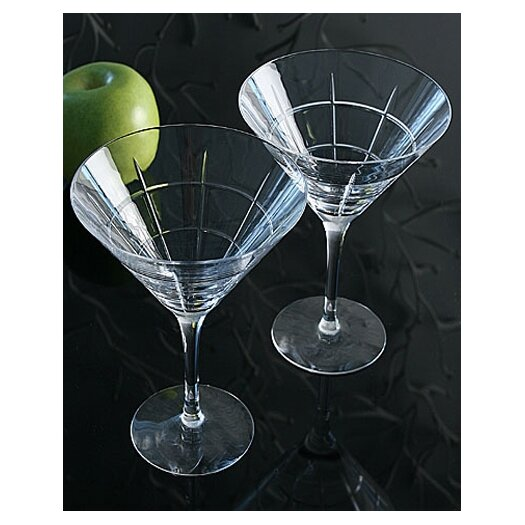 Orrefors Street Martini Glass