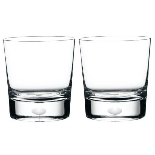 Orrefors Intermezzo Satin Double Old Fashioned Glass