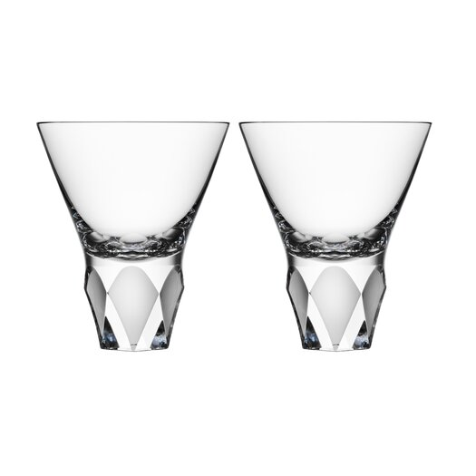 Orrefors Carat Cocktail Glass