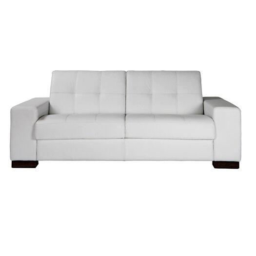 Eurosace Luxury Elite Leather Sleeper Sofa