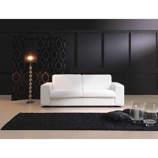 Eurosace Luxury Penta Leather Sleeper Sofa