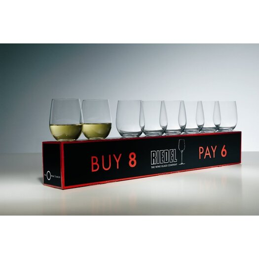 "Riedel ""O"" White Wine Glass"