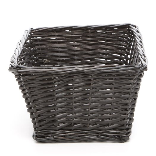 Lambs & Ivy Madison Avenue Baby Basket in Espresso