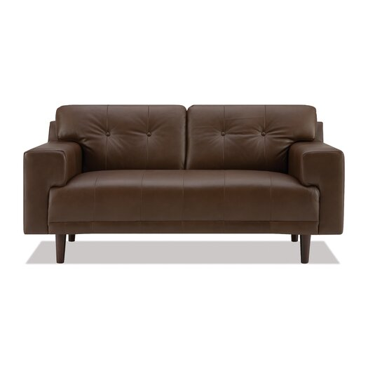 Byrd Leather Loveseat