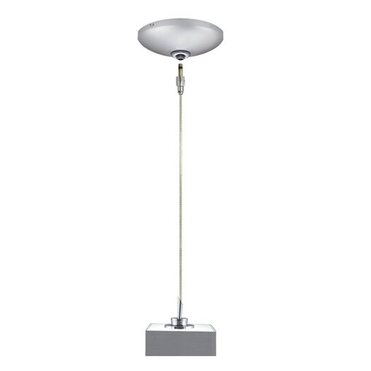 Jesco Lighting Tess 1 Light Pendant and Canopy Kit