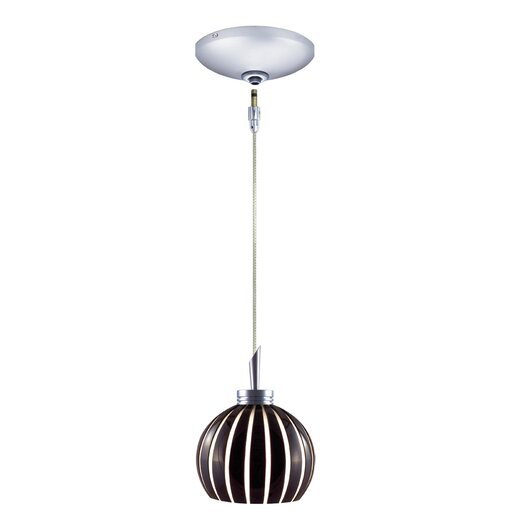 Jesco Lighting Fabian 1 Light Pendant and Canopy Kit