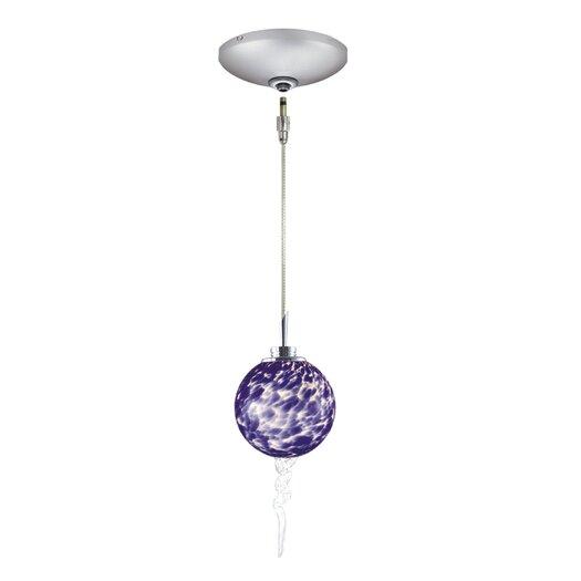 Jesco Lighting Tori 1 Light Pendant and Canopy Kit