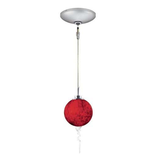 Jesco Lighting Tori 1 Light Pendant and Canopy Kit