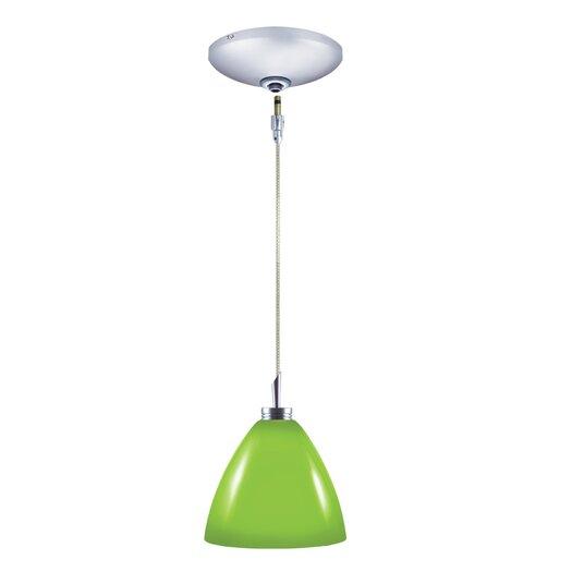 Jesco Lighting Dora 1 Light Pendant and Canopy Kit