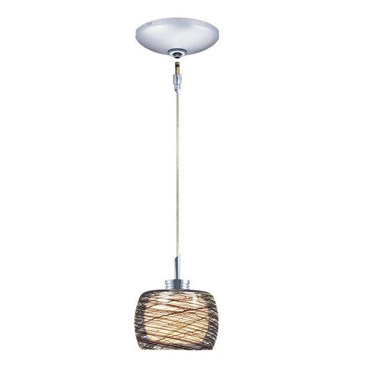 Jesco Lighting Ally 1 Light Pendant and Canopy Kit