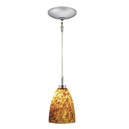 Jesco Lighting Goblet 1 Light Pendant and Canopy Kit