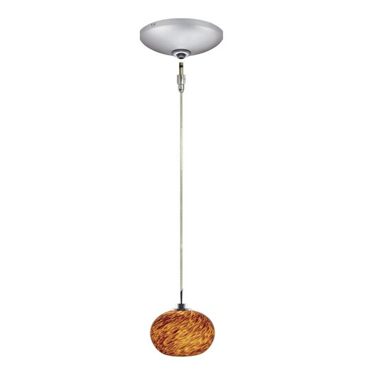 Jesco Lighting Todd 1 Light Pendant and Canopy Kit