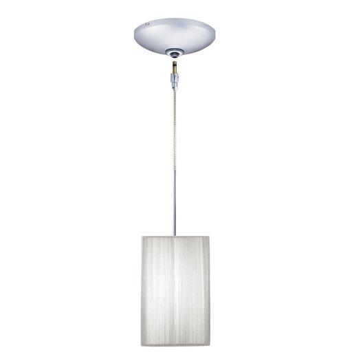 Jesco Lighting Tao 1 Light Pendant and Canopy Kit