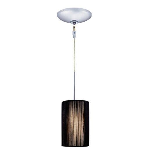 Jesco Lighting Zen 1 Light Pendant and Canopy Kit