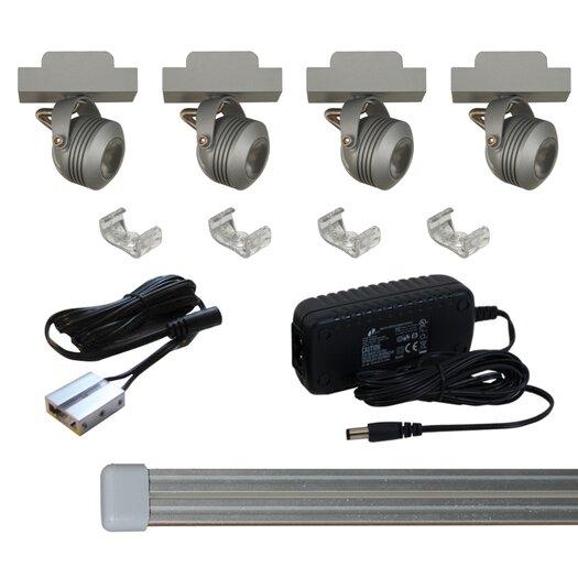 Jesco Lighting Solaris LED Miniature Track Light Kit