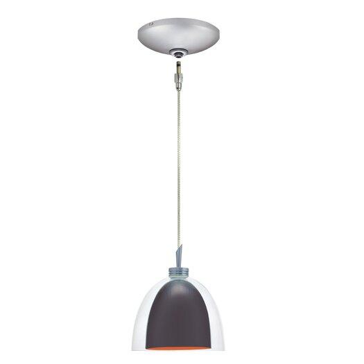 Jesco Lighting Lina 1 Light Pendant and Canopy Kit