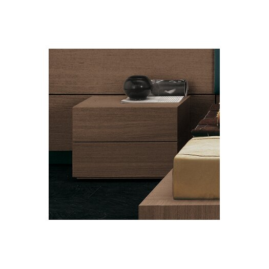 Pianca USA People 2 Drawer Nightstand