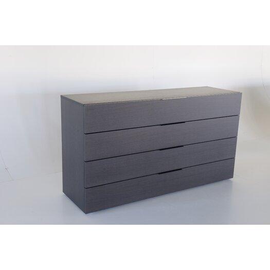 Spazio 4 Drawer Dresser