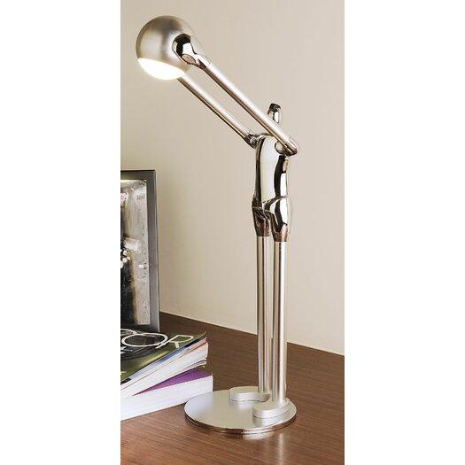 """Man2Max Fantasy Artistic LED 15.74"""" H Table Lamp with Bowl Shade"""