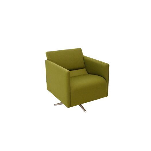 Slim Swivel Cat C Arm Chair