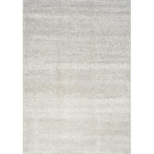 Kalora Boulevard Glitz Low Pile Light Grey Area Rug