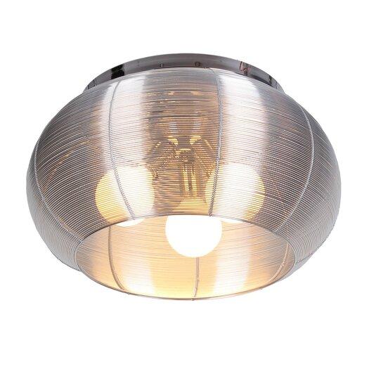 Bromi Design Lenox 3 Light Flush Mount