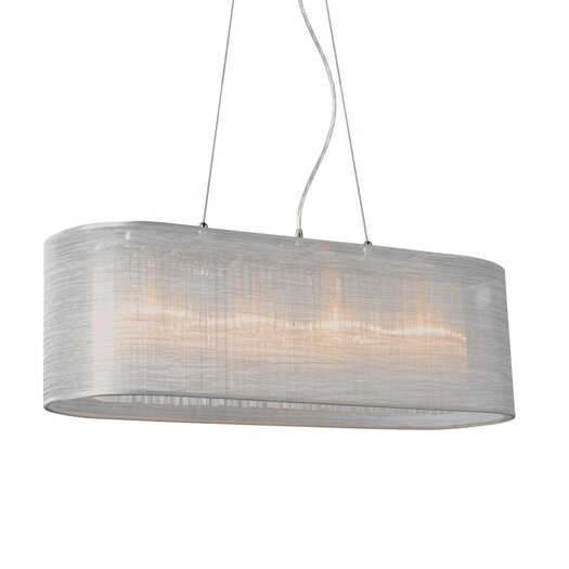 Bromi Design Prescott 4 Light Pool Table Light