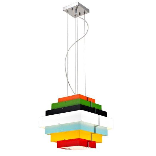 Bromi Design Onyx 1 Light Pendant