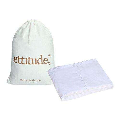 Ettitude Platypus Organic Pure Bamboo 300 Thread Count Cot Sheet Set