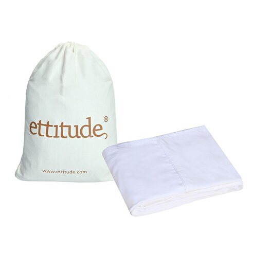 Ettitude Platypus Organic Pure Bamboo 300 Thread Count Cot Sheet Set