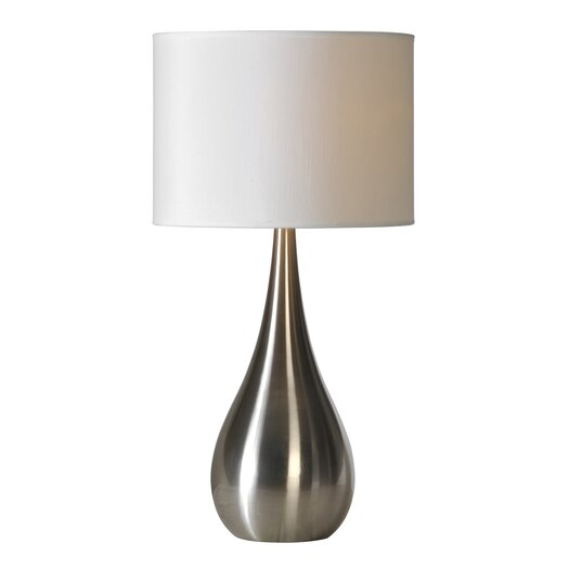 """Ren-Wil Contemporary 27"""" H Table Lamp with Drum Shade"""