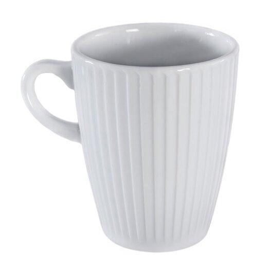 Pillivuyt Plisse 9 oz. Mug