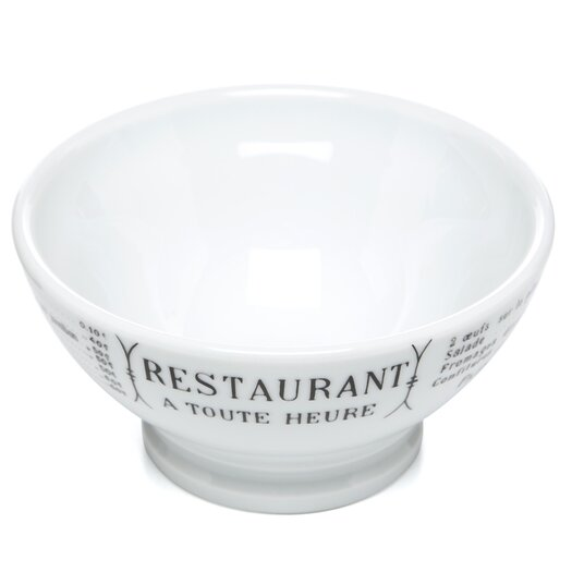 Pillivuyt Brasserie 13 oz. Café Au Lait Serving Bowl