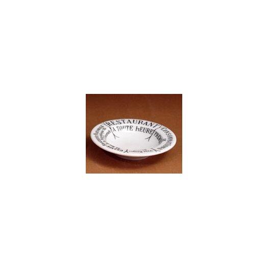 Pillivuyt Brasserie Butter/Jam Round Platter