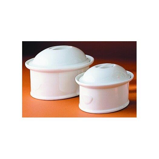 Pillivuyt Porcelain Oval Casserole