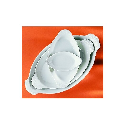 Pillivuyt Eared Oval Platter