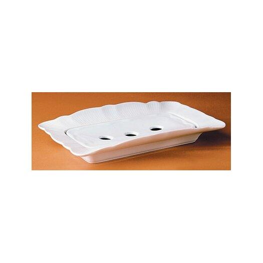 Pillivuyt Asparagus Drainer Rectangular Platter