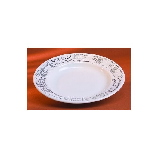 Pillivuyt Brasserie 8 Oz. Soup Plate