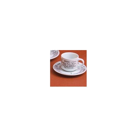 Pillivuyt Brasserie Espresso Saucer