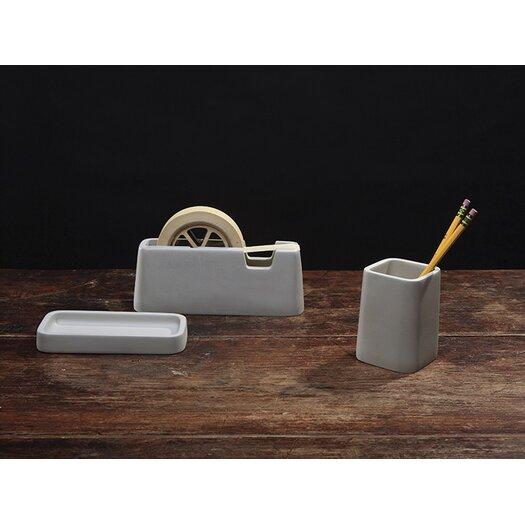 Areaware Concrete Desk Set
