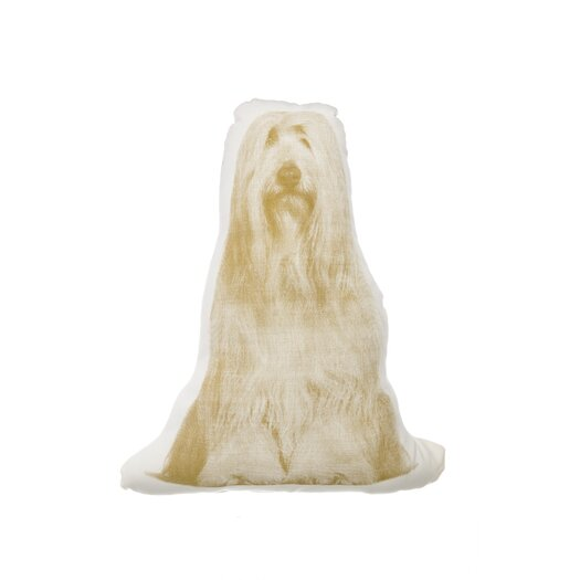 MINI Bearded Collie Pillow