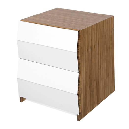 Planar 2 Drawer Nighstand