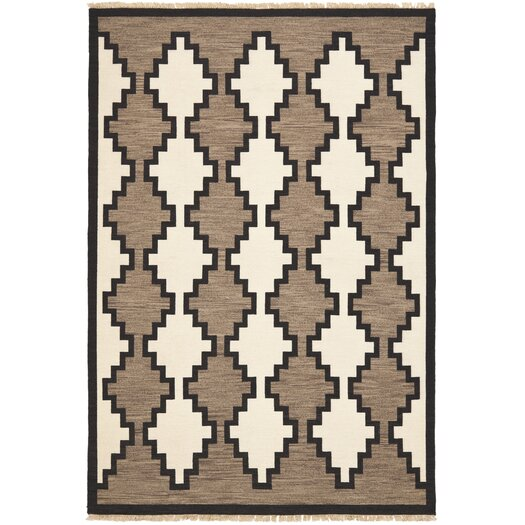 Great Plains Maverick Brown/Tan Geometric Area Rug
