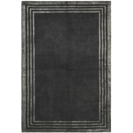 Ellington Border Platinum Area Rug