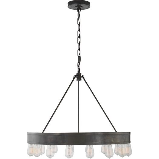 Ralph Lauren Home Roark Modular 16 Light Ring Chandelier